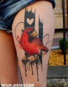 Pájaro cardenal