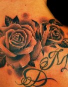Significado de tatuajes de rosas