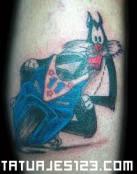 Tatuaje de Silvestre