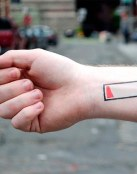 Tatuaje batería baja