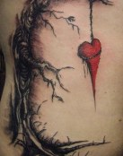 Corazón colgado