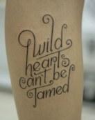 Tatuaje corazón salvaje