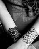 Tatuajes de botones