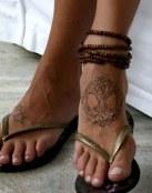 La naturaleza en los pies