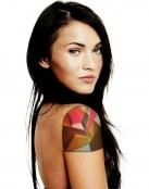 Tatuaje con diseño geométrico