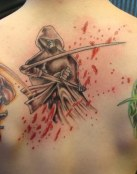 Tres tatuajes de la muerte