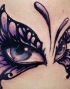 Ojos de mariposa