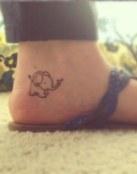Elefante en el tobillo