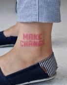 Tatuaje de cambios