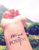 Tatuaje piensa en positivo