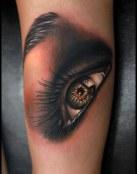 Un ojo muy realista