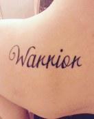 Tatuaje Warrior