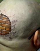 Tatuaje original para calvos