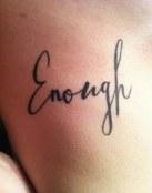 Tatuaje suficiente
