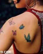 Mariposas por el cuerpo