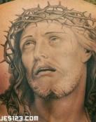 Tatuaje de Jesús