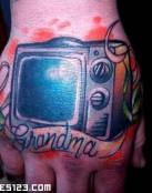 Tatuajes de televisión