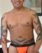 Tribal en abdomen y brazos