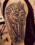 Tutankamon de oro