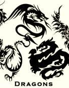 Varios diseño de Dragones