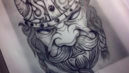 Significado de tatuajes Vikingos
