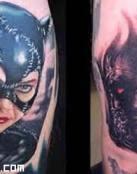 Tatuajes de super villanos del cine
