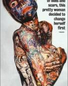La mujer mas tatuada del mundo