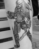 Tatuaje de un predator