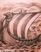 Navío de guerra vikingo