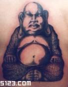Tatuaje del Dios Budha