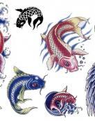Mas tattoos de temática oriental