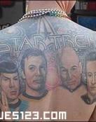 La tripulación de Star trek