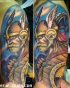 Thor el dios vikingo a todo color