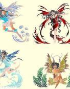 Varios tatuajes de Hadas o duendes