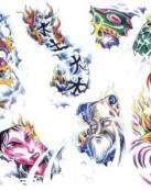 Numeros tattoos orientales
