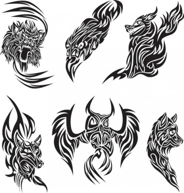 Disenos Tribales Innovadores: Diseños Tribales De Animales