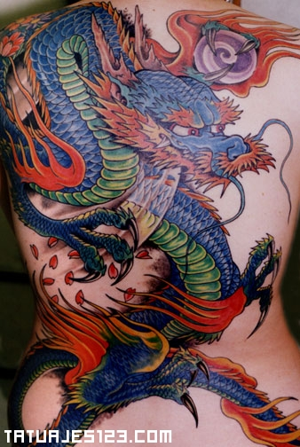 Dragones para tatuajes
