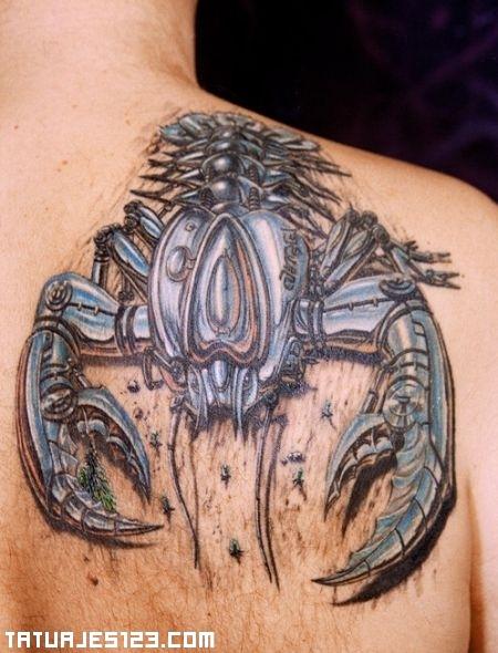 Tatuaje de escopión