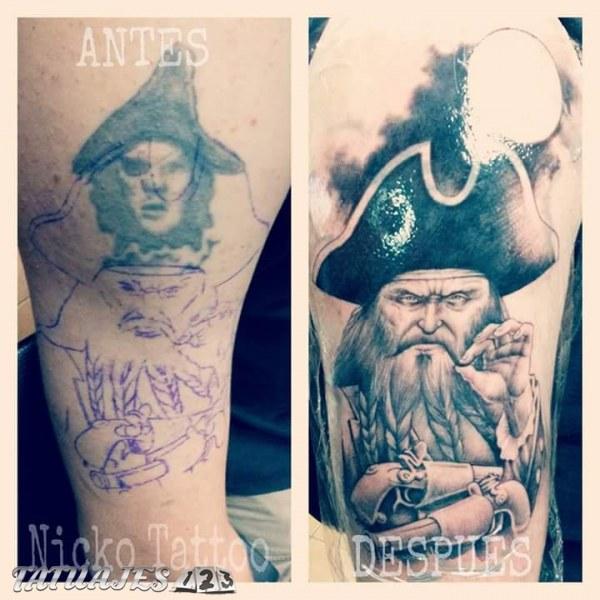 Cover up pirata