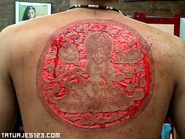 Dios Hindu al rojo vivo