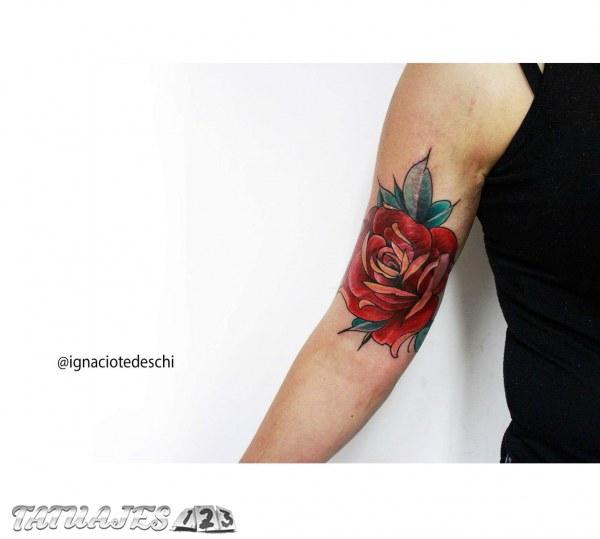 Flor neotradicional