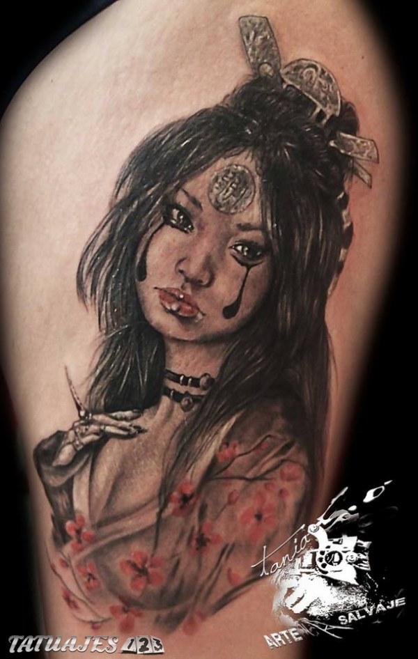 Tattoo de Geisha