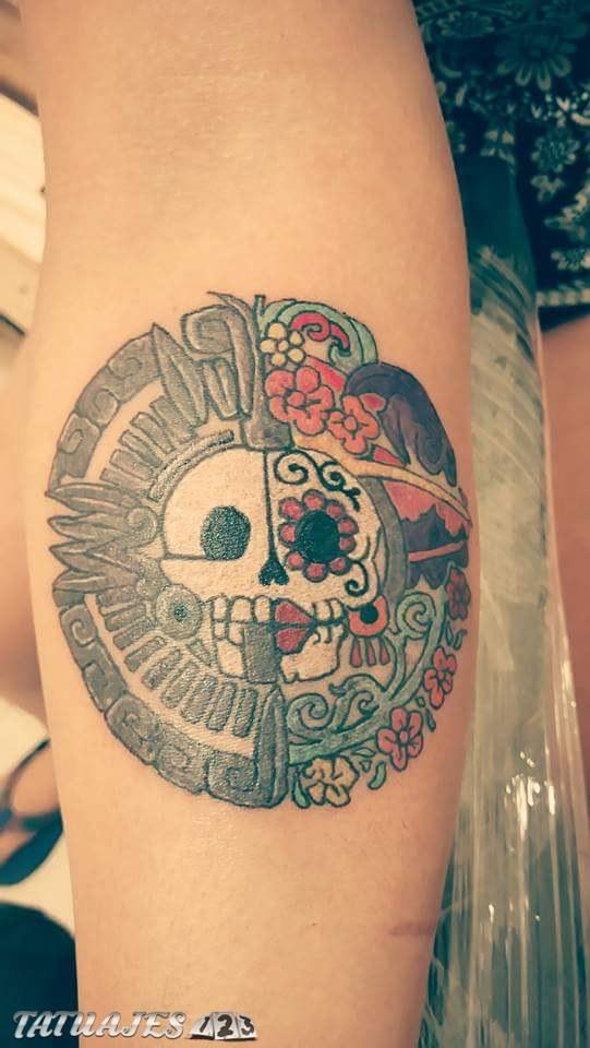 Azteca tattoo