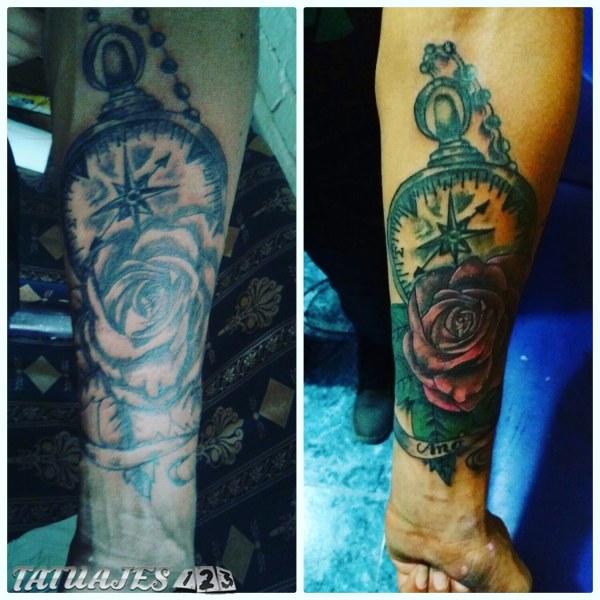 Retoque de tatuaje