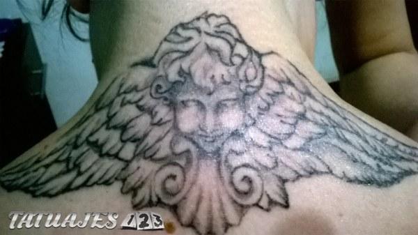 Angel Black and Grey