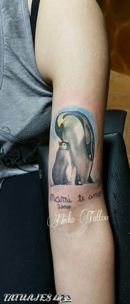 Tatuaje madre e hijo