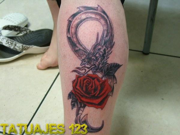 Rosa y Dragón