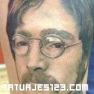 Cara de John Lennon
